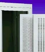 鋁框式通風網狀門