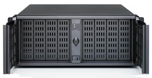 SS-4U808 4U IPC 工業機箱(八大雙開門)