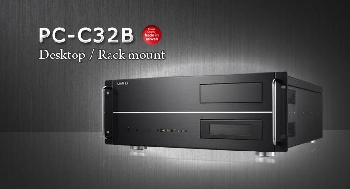 聯力(極致工藝)PC-C32 鋁鎂合金電腦機殼(可上機櫃N.P)