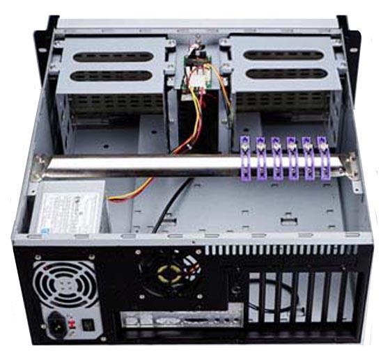 SS-4U806  4U IPC 工業機箱(雙開門六大四小)