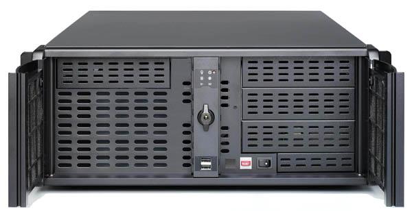 SS-4U800 4U IPC 工業機箱(四大三小雙開門)